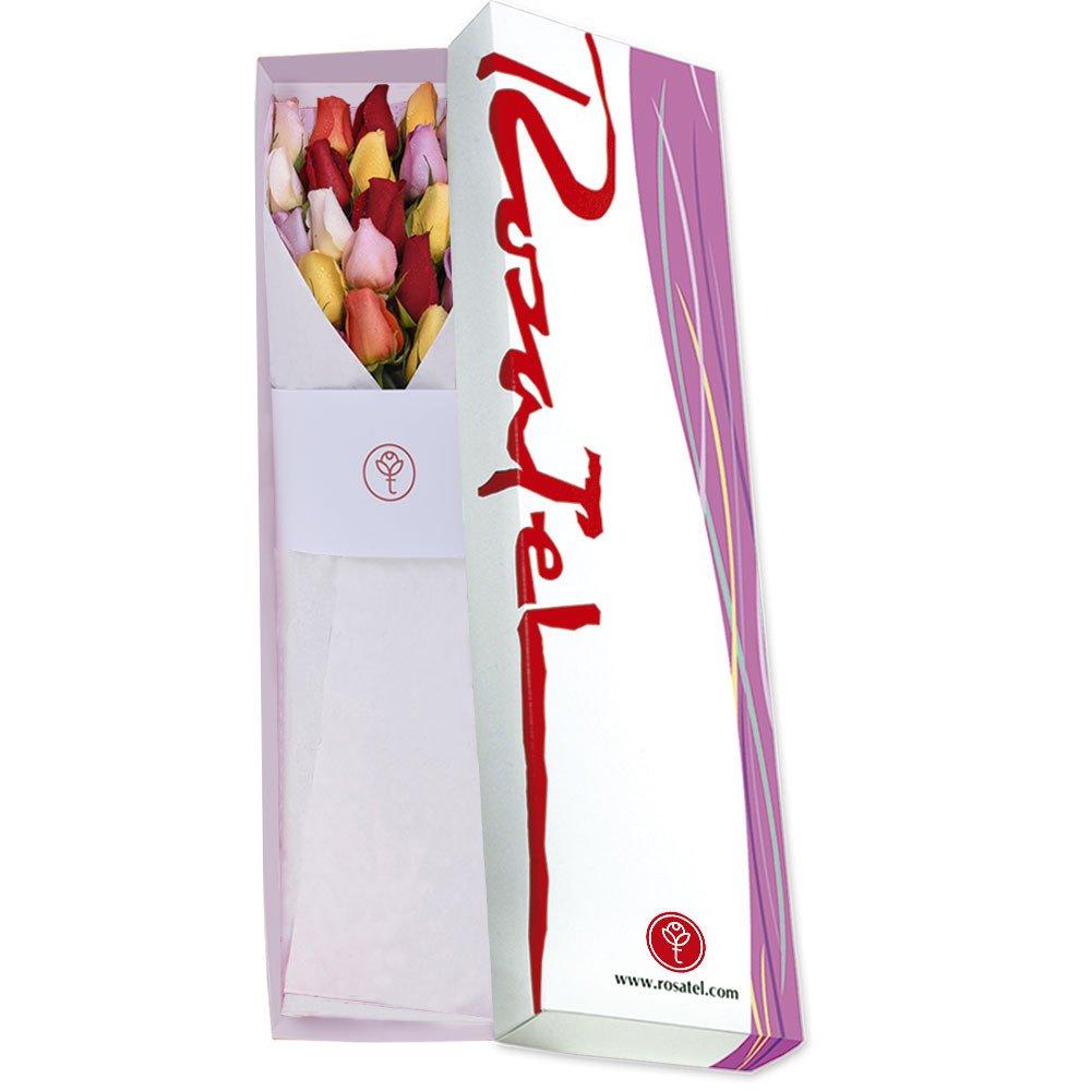Caja Primavera con 24 Rosas a Precio de 12