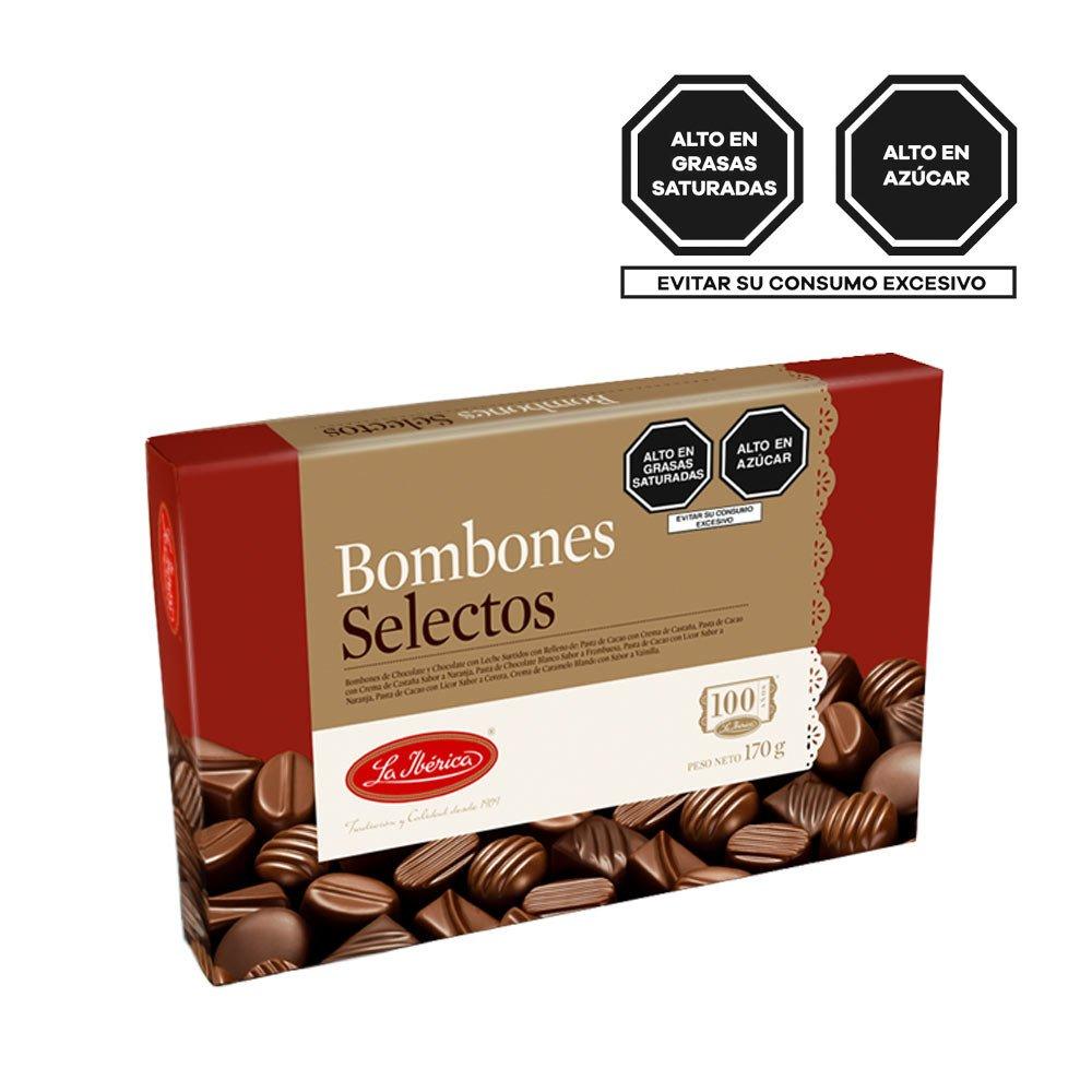 Bombones Selectos La Ibérica Rosatel