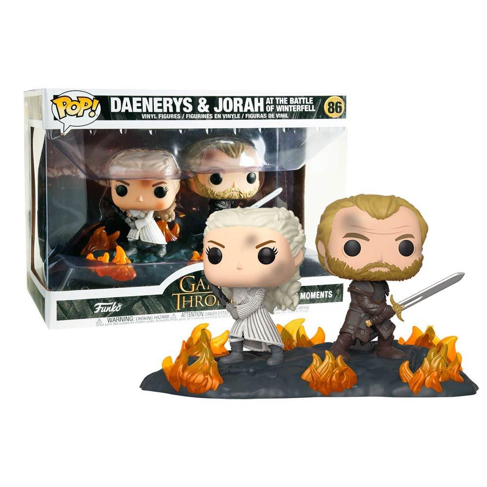 Funko Pop Game of Thrones Daenerys y Jorah Rosatel