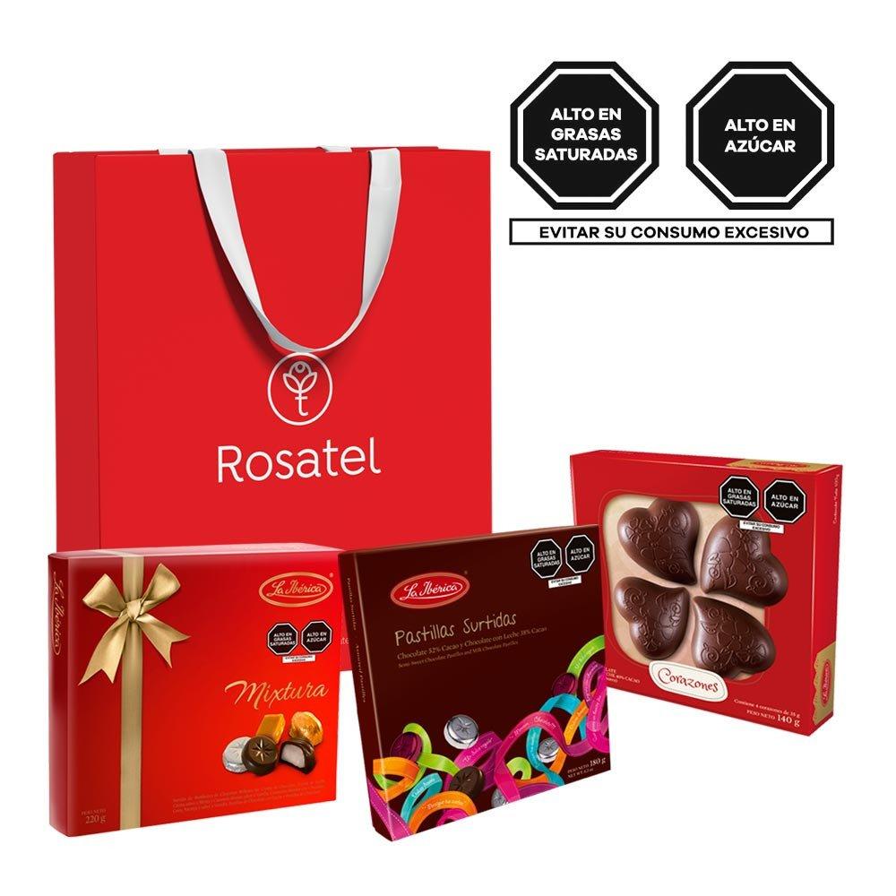 Pack Delicias Chocolates  La Ibérica Rosatel