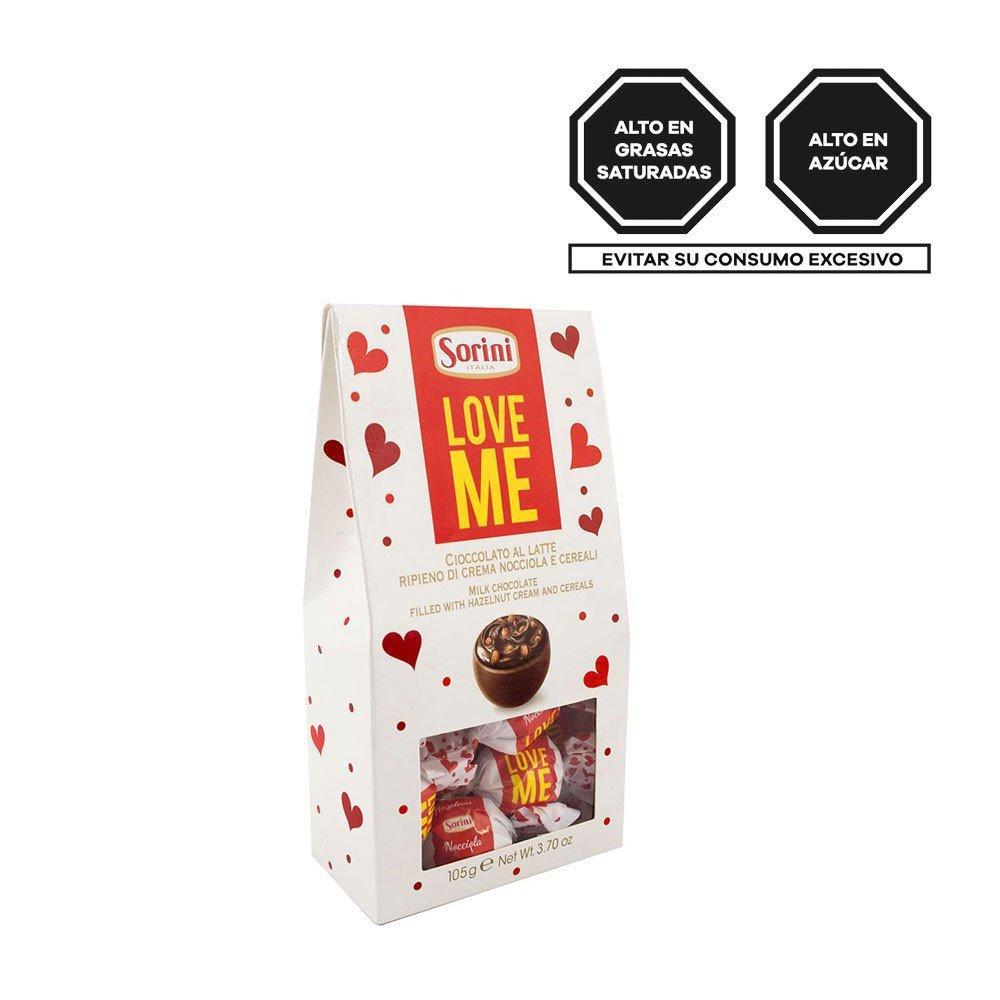 Sorini Love Me Bombones de Chocolate Rosatel