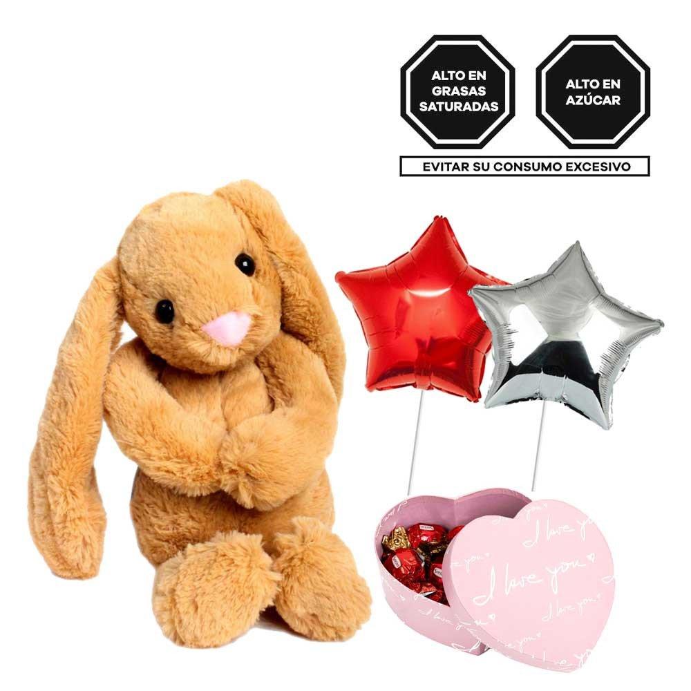 Conejo, Bombones Sorini y Globos Rosatel