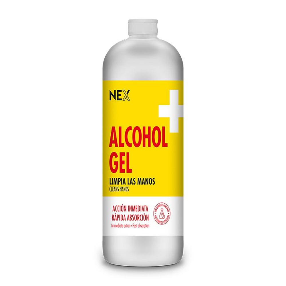 Nex Alcohol en gel 1100 ml. Rosatel