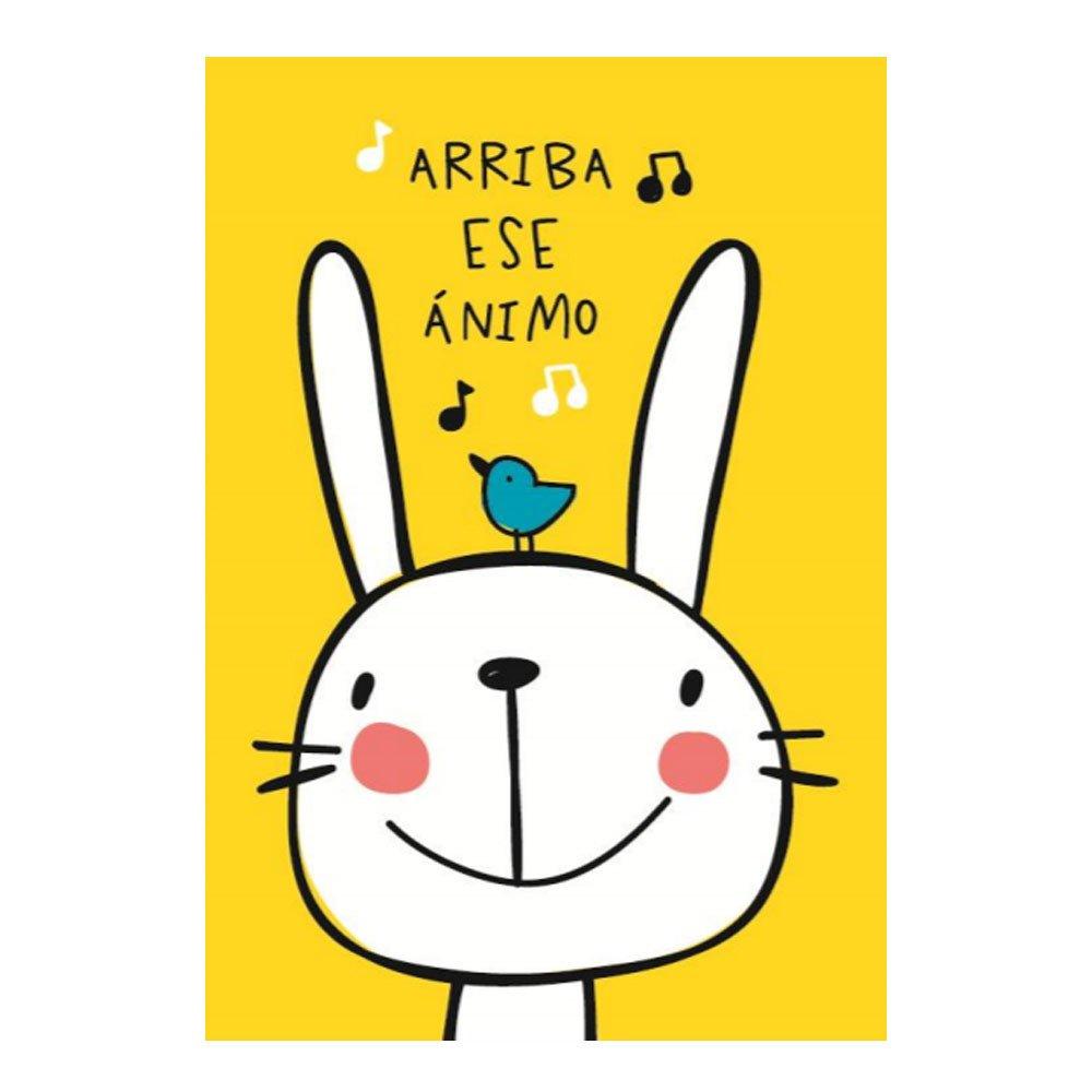 Tarjeta Arriba ese Animo Conejo Rosatel