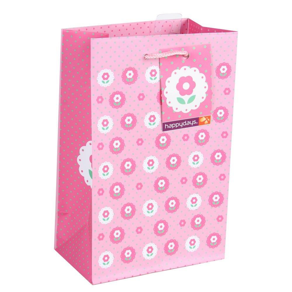 Bolsa Flores Rosada Rosatel