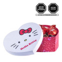 Caja Corazón Lazos de Hello Kitty con Bombones Sorini Rosatel
