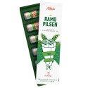 Caja nuevo diseño ramo Pilsen con 6 cervezas Pilsen lata 355 ml Rosatel