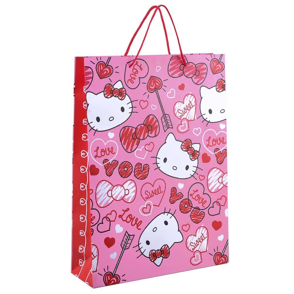 Bolsa Grande Línea Corazones de Hello Kitty Rosatel