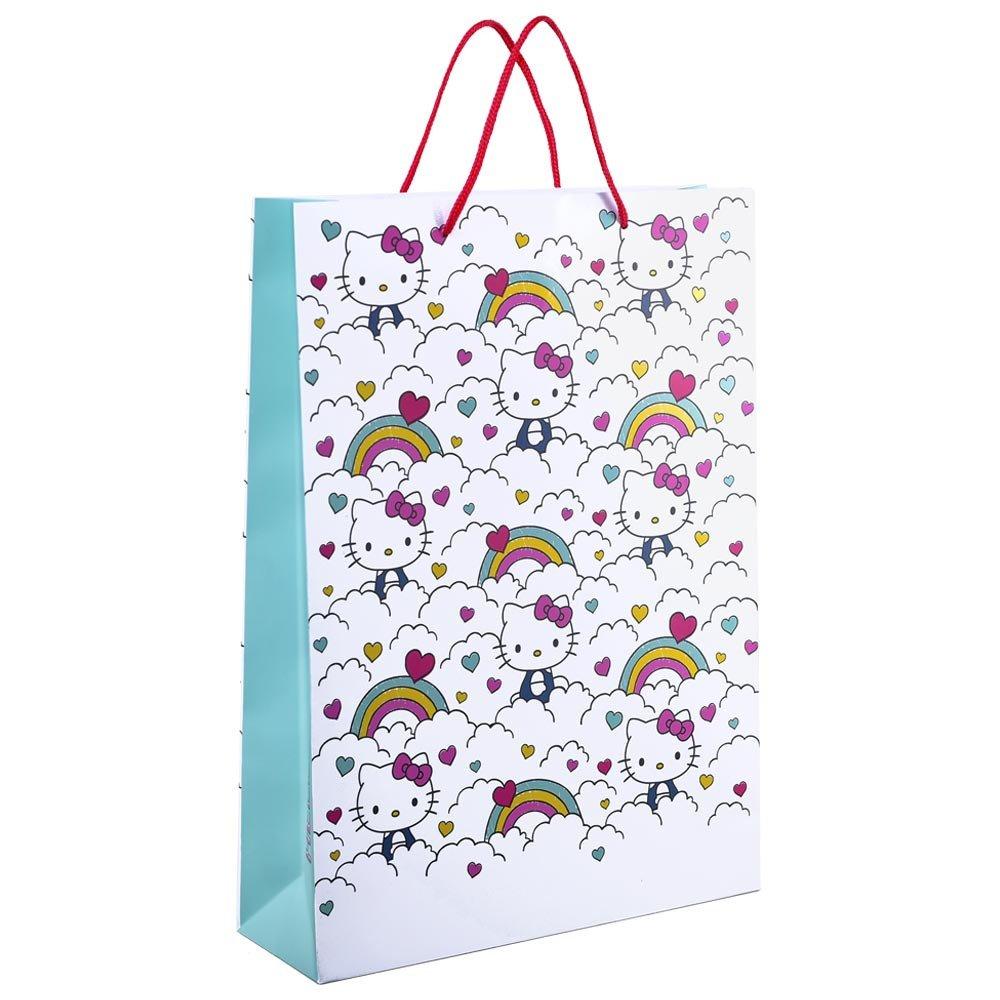Bolsa Grande Línea Arcoíris Hello Kitty Rosatel