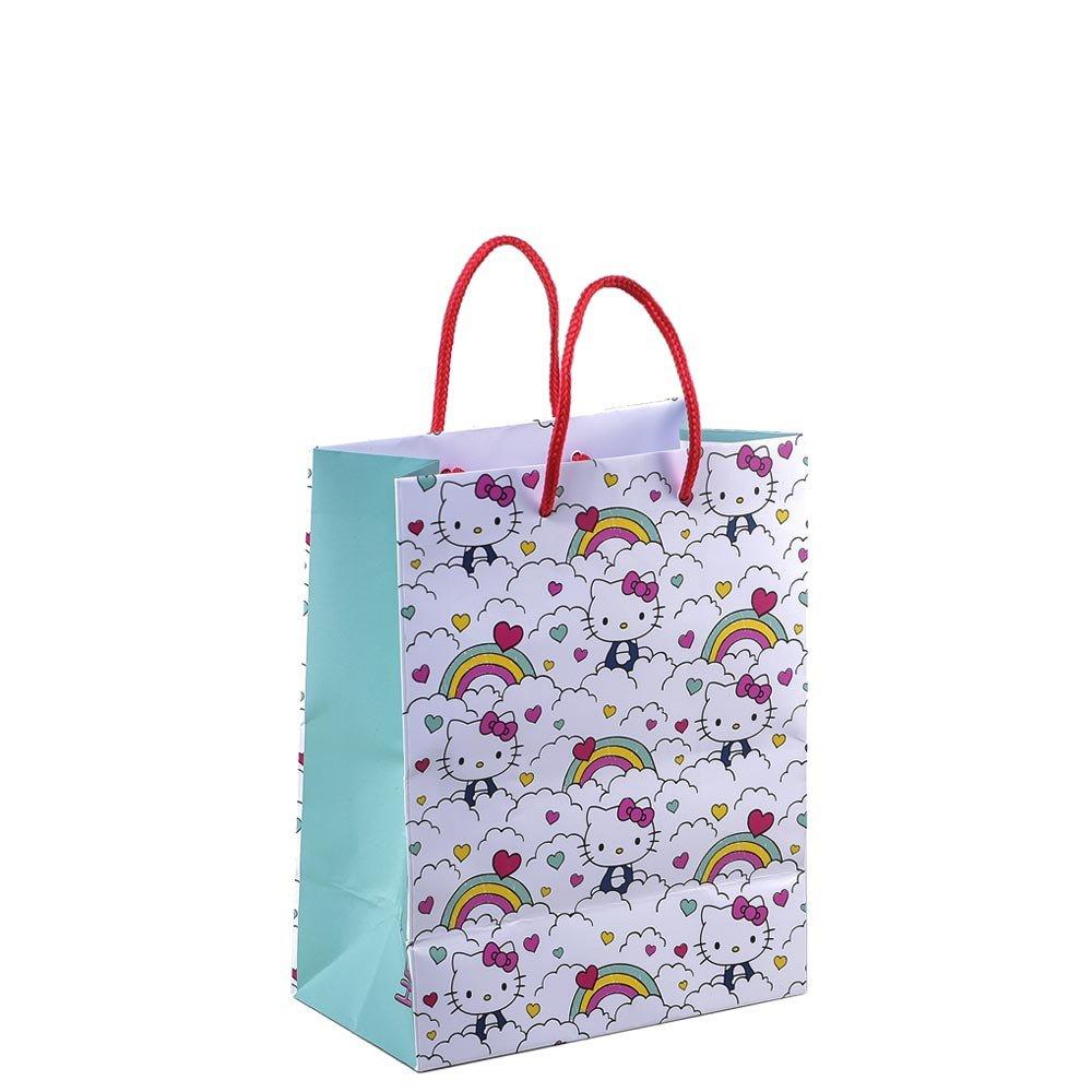 Bolsa Pequeña Línea Arcoíris Hello Kitty Rosatel