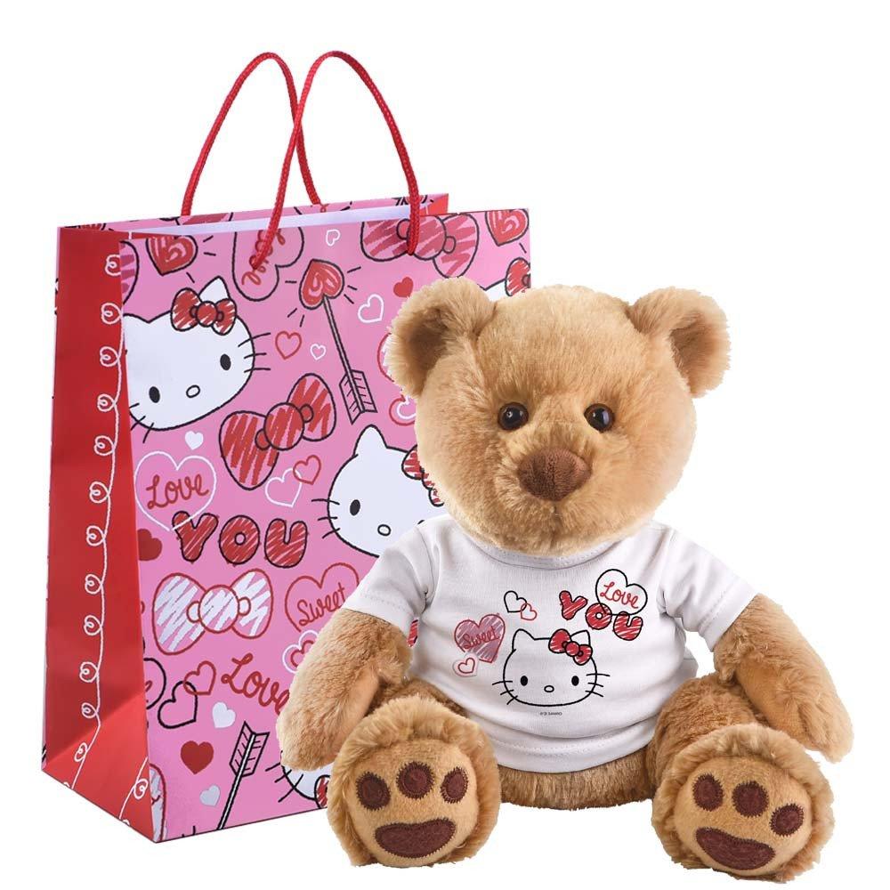 Hugo Corazones Love You Hello Kitty en bolsa Rosatel