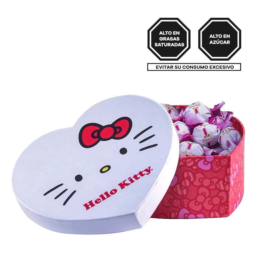 Caja Corazón Lazos de Hello Kitty con Sorini Panna Rosatel