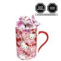 Taza Corazones Hello Kitty con Bombones Sorini Panna Rosatel
