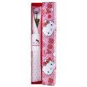 Caja Corazones Hello Kitty con1 Rosa Preservada Lavanda Claro Rosatel