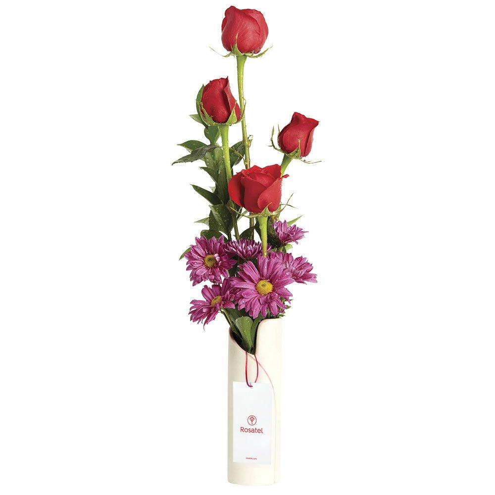 Rosas Rojas y Flores