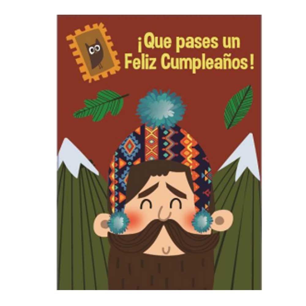Tarjeta Alpinista Cumpleaños