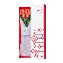 Caja Blanca con 12 Rosas