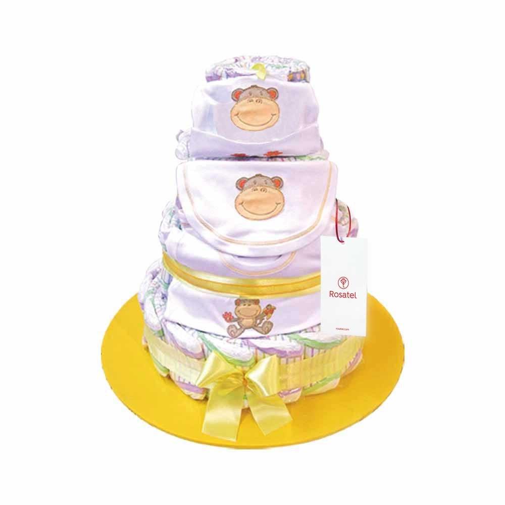 Torta de Pañal y Ajuar