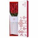 Caja con 25 Rosas Rojas Rosatel