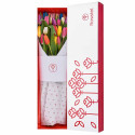 Caja con 25 Tulipanes Variados Rosatel
