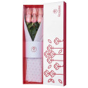 Caja Blanca con 6 Rosas Rosatel